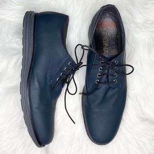 Cole Haan Original grand slate blue lace up shoes